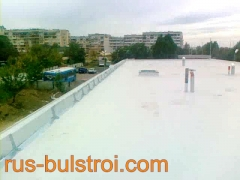 Ремонт на покрив с PVC мембрана на детска градина в Русе_3
