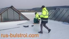 Хидроизолация с PVC мембрана на покриви на Фуего Транс - Плевен_2